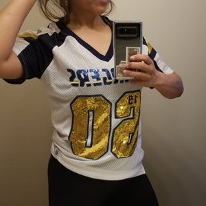 Chargers Jersey Tops on Poshmark 5ad36a8e3